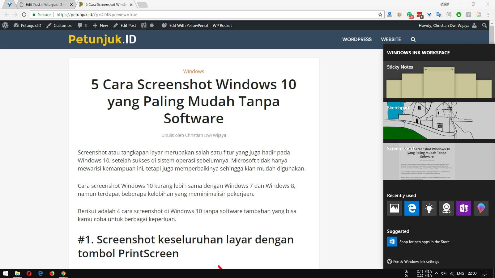 5 Cara Screenshot Di Windows 10 Tanpa Software Tambahan