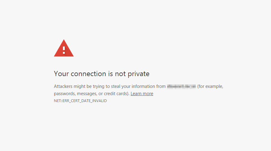 Cara Mengatasi Error Your connection is not private di Google Chrome