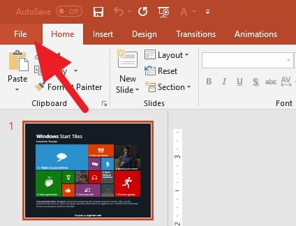 File PowerPoint
