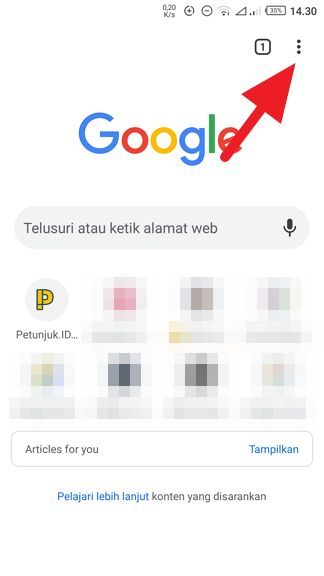 Google Search Android 1 Cara Jadikan Google Sebagai Pencari Default di Chrome Android 1 Google Search Android 1