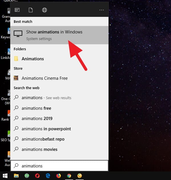 Animation Off 1 9 Langkah Membuat Windows 10 Jadi Ringan dan Super Cepat 1 Animation Off 1