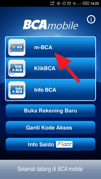 Cara Hapus Daftar Transfer Virtual Account m-BCA 1