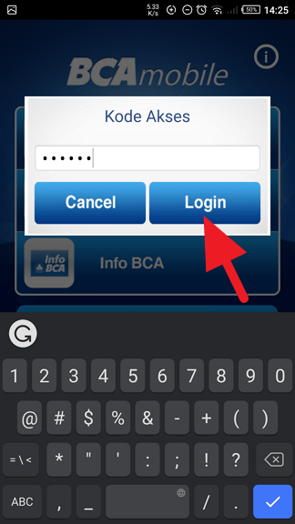 Cara Hapus Daftar Transfer Virtual Account m-BCA 2