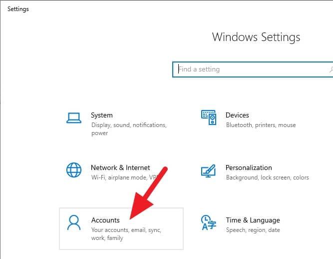 Accounts Cara Mengunci Windows 10 dengan Android (Bluetooth) 9 Accounts