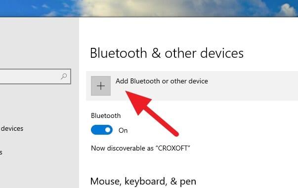 Add Bluetooth device Cara Mengunci Windows 10 dengan Android (Bluetooth) 4 Add Bluetooth device