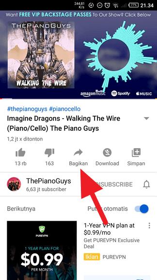 Bagikan video