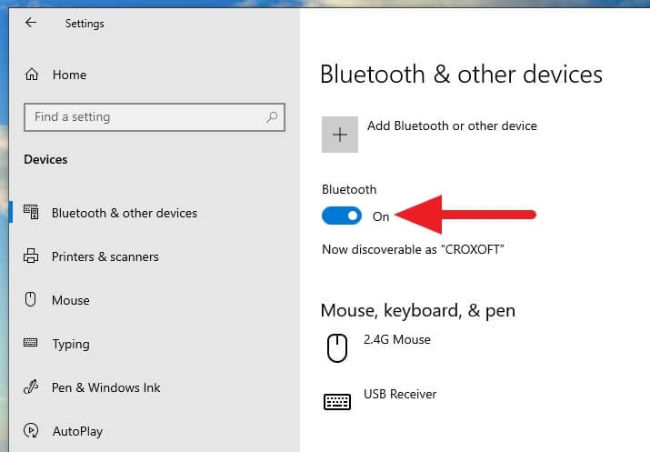 Bluetooth aktif Cara Mengunci Windows 10 dengan Android (Bluetooth) 3 Bluetooth aktif