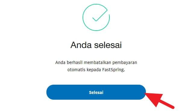 Selesai Cara Batalkan Pembayaran Otomatis di PayPal 8 Selesai