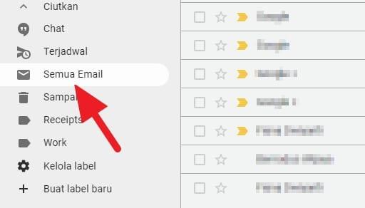 semua email gmail Cara Mencari Email yang Diarsipkan di Gmail PC 2 semua email gmail