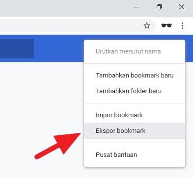 ekspor bookmark Cara Ekpor/Impor Bookmark Chrome dengan Cepat 4 ekspor bookmark