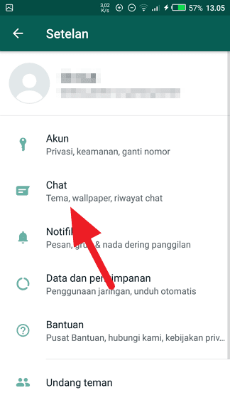 Chat 3 Cara Aktifkan Mode Gelap di WhatsApp 3 Chat 3