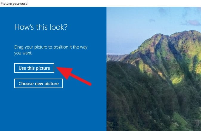use this picture Cara Aktifkan Picture Password di Windows 10 7 use this picture