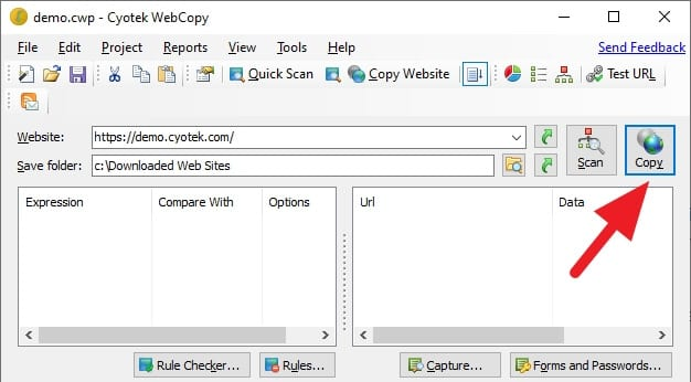 Copy web Cara Download Website Full dan Bisa Dibuka Offline 5 Copy web