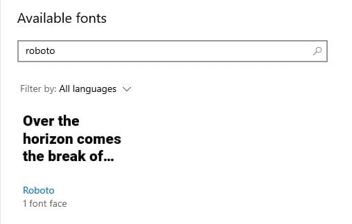 Font installed Cara Mudah Instal Font Baru di Windows 10 7 Font installed