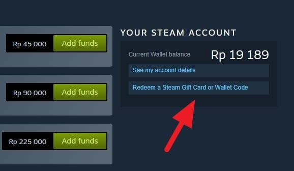 Redeem Cara Redeem Steam Wallet IDR dengan Mudah 3 Redeem