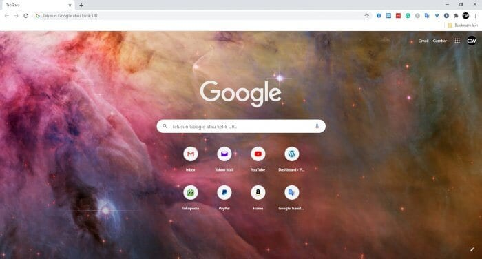 Chrome background Cara Mengganti Background Google Chrome dengan Foto Sendiri 4 Chrome background