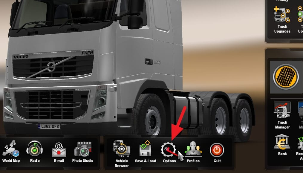 Options Cara Menghapus Speed Limit di Euro Truck Simulator 2 1 Options