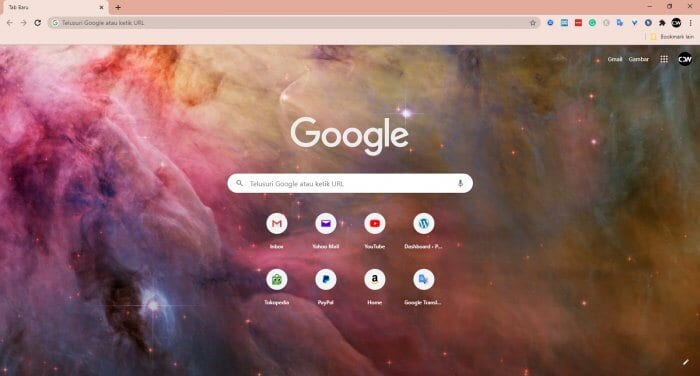 Warna background chrome Cara Mengganti Background Google Chrome dengan Foto Sendiri 5 Warna background chrome