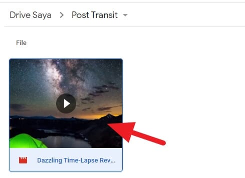 Buka video Cara Embed Video Dari Google Drive dengan Mudah 2 Buka video