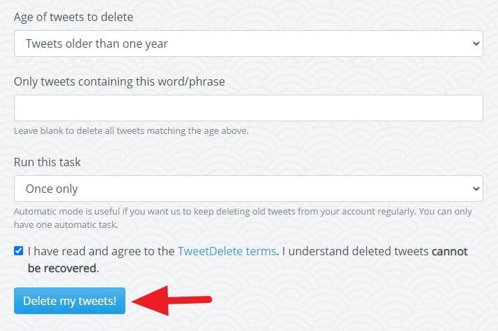Delete my tweets Cara Cepat Hapus Semua Tweet di Akun Twitter 3 Delete my tweets