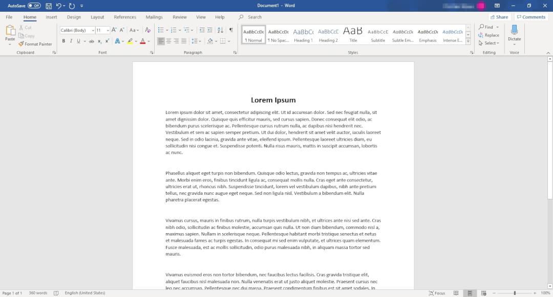 Microsoft Word 2 Cara Membuat Bingkai di Word dengan Cepat 1 Microsoft Word 2