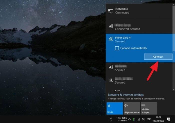 Connect Cara Hotspot Android ke Laptop/PC Lewat USB 5 Connect
