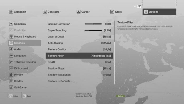 Graphics Setting Hitman 5 Cara Mengatasi FPS Drop Saat Bermain Game di PC/Laptop 1 Graphics Setting Hitman