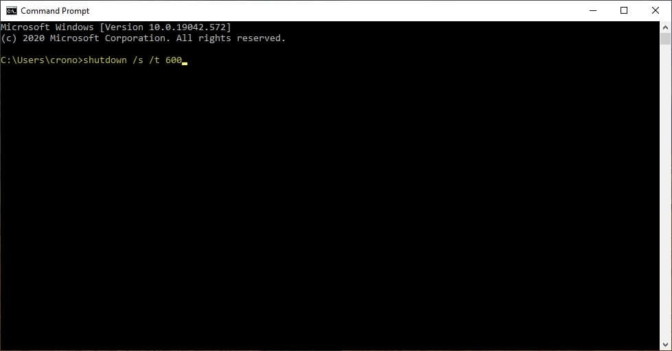 shutdown 1 Cara Matikan PC/Laptop Secara Otomatis Menggunakan CMD 2 shutdown 1