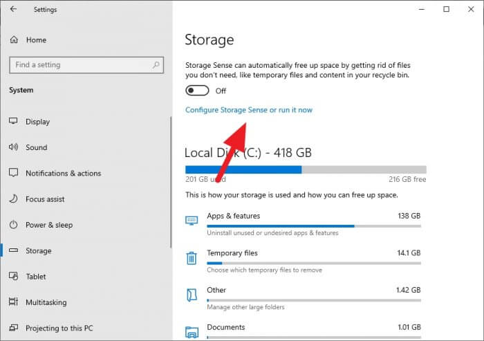 Configure storage Cara Hapus Folder Windows.old dengan Benar 4 Configure storage