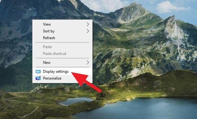 Display settings 1 1 Cara Mengatur Resolusi Monitor PC/Laptop Windows 10 1 Display settings 1 1