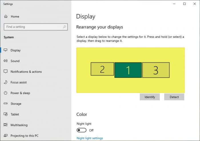 Select display Cara Mengatur Resolusi Monitor PC/Laptop Windows 10 2 Select display
