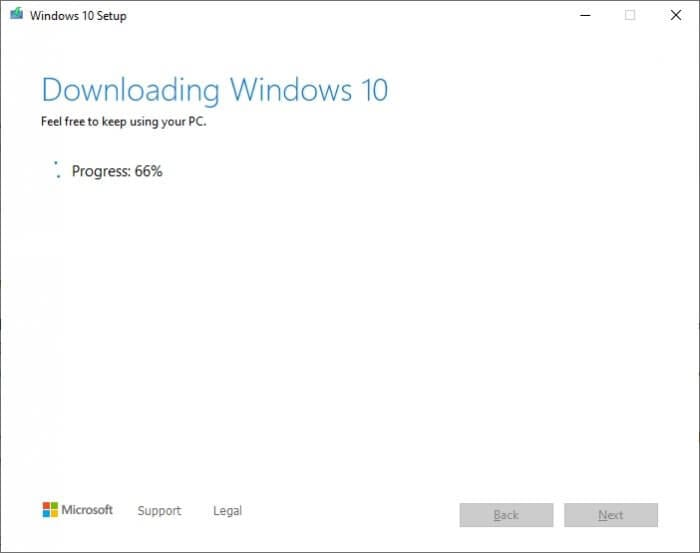 Downloading Windows 10 Cara Membuat Bootable Windows 10 di Flash Disk 9 Downloading Windows 10