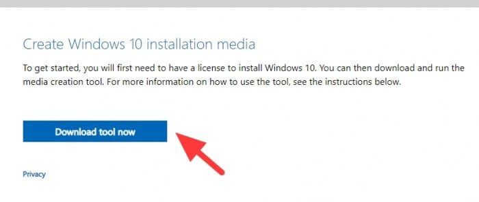 Windows 10 installation media Cara Membuat Bootable Windows 10 di Flash Disk 2 Windows 10 installation media