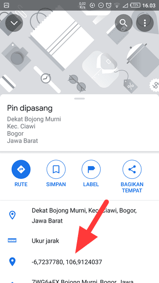 Screenshot 20210319 160309 Cara Mengetahui Titik Koordinat di Google Maps 3 Screenshot 20210319 160309