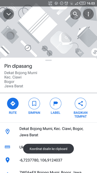 Screenshot 20210319 160338 Cara Mengetahui Titik Koordinat di Google Maps 4 Screenshot 20210319 160338