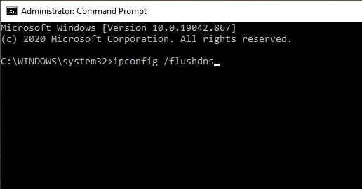 ipconfig flushdns Cara Flush DNS di Windows 10 Menggunakan CMD 4 ipconfig flushdns