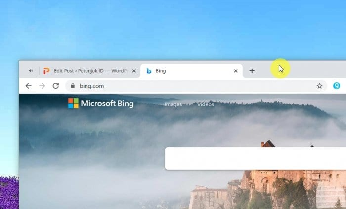 title bar Cara Menggunakan Split Screen Windows 10 Agar Lebih Produktif 1 title bar